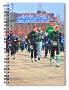 039 Shamrock Run Series Spiral Notebook