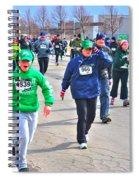 042 Shamrock Run Series Spiral Notebook