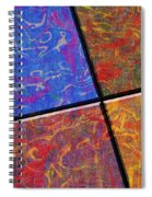 0580 Abstract Thought Spiral Notebook