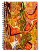 0625 Abstract Thought Spiral Notebook