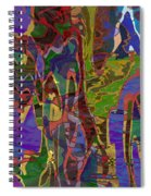 0661 Abstract Thought Spiral Notebook
