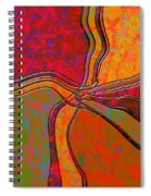0683 Abstract Thought Spiral Notebook
