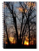 07 Sunset Spiral Notebook