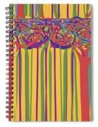 0706 Abstract Thought Spiral Notebook