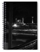 09 Niagara Falls Usa Rapids Series Spiral Notebook