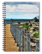 001 Peace Bridge Series Spiral Notebook
