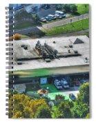 0014 Autumn Days Of Buffalo Ny Birds Eye Spiral Notebook