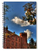 002 The 74th Regimental Armory In Buffalo New York Spiral Notebook