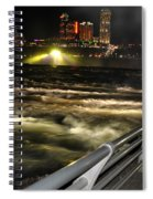 012 Niagara Falls Usa Rapids Series Spiral Notebook