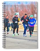 012 Shamrock Run Series Spiral Notebook
