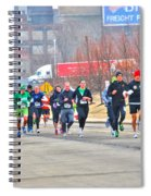 013 Shamrock Run Series Spiral Notebook