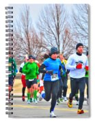 020 Shamrock Run Series Spiral Notebook