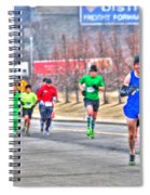 03 Shamrock Run Series Spiral Notebook