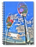 04 Love Is In The Air Spiral Notebook