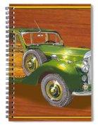 1947 Bentley Shooting Brake Spiral Notebook