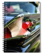 1958 Mercury Park Lane Tail Light Spiral Notebook