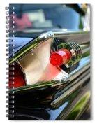 1958 Mercury Park Lane Tail Light Spiral Notebook