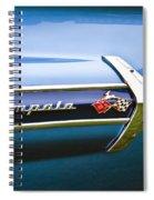 1960 Chevrolet Impala Emblem Spiral Notebook