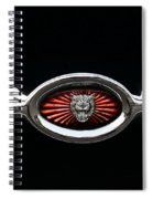 1973 Jaguar Type E Emblem Spiral Notebook