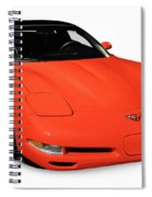 1997 Chevrolet Corvette C5 Coupe Spiral Notebook