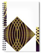 3 Square Spiral Notebook