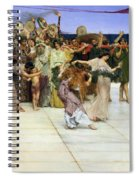 A Dedication To Bacchus Spiral Notebook