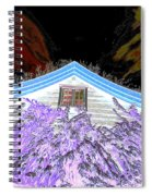 A Flowery House In Norway Spiral Notebook