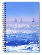 A Good Day For Sailing Spiral Notebook