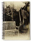 A Trip Through Time Spiral Notebook