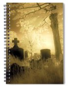 Abandoned And Overgrown Cemetery Spiral Notebook