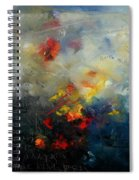 Abstract 0805 Spiral Notebook