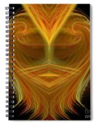 Abstract 106 Spiral Notebook