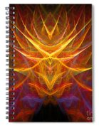 Abstract 109 Spiral Notebook