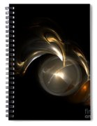 Abstract 110 Spiral Notebook
