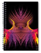 Abstract 150 Spiral Notebook