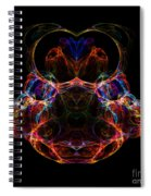 Abstract 163 Spiral Notebook