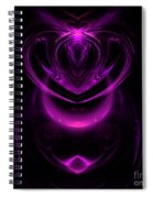Abstract 165 Spiral Notebook