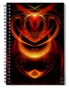 Abstract 166 Spiral Notebook