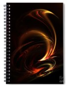 Abstract 168 Spiral Notebook