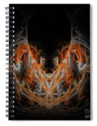 Abstract 171 Spiral Notebook
