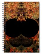 Abstract 173 Spiral Notebook
