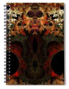 Abstract 175 Spiral Notebook