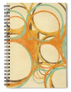 Abstract Circle Spiral Notebook