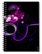 Abstract Eighteen Spiral Notebook