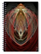 Abstract Eighty Spiral Notebook