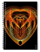 Abstract Eighty-nine Spiral Notebook