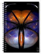 Abstract Eighty-six Spiral Notebook
