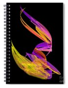 Abstract Fifty-four Spiral Notebook
