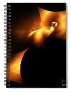 Abstract Fifty Spiral Notebook