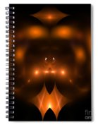 Abstract Fifty-two Spiral Notebook